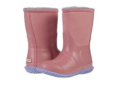 Hunter Kids Original Sherpa Boots (Toddler/Little Kid) (Hibiscus Pink/Pulpit Purple) Girls Shoes