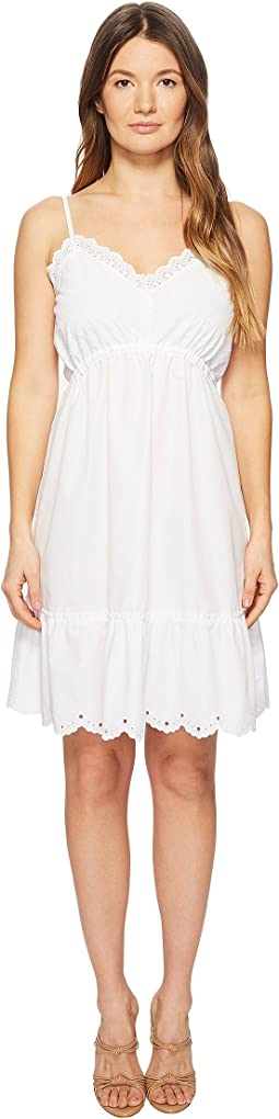 McQ - Broderie Anglaise Mini Dress