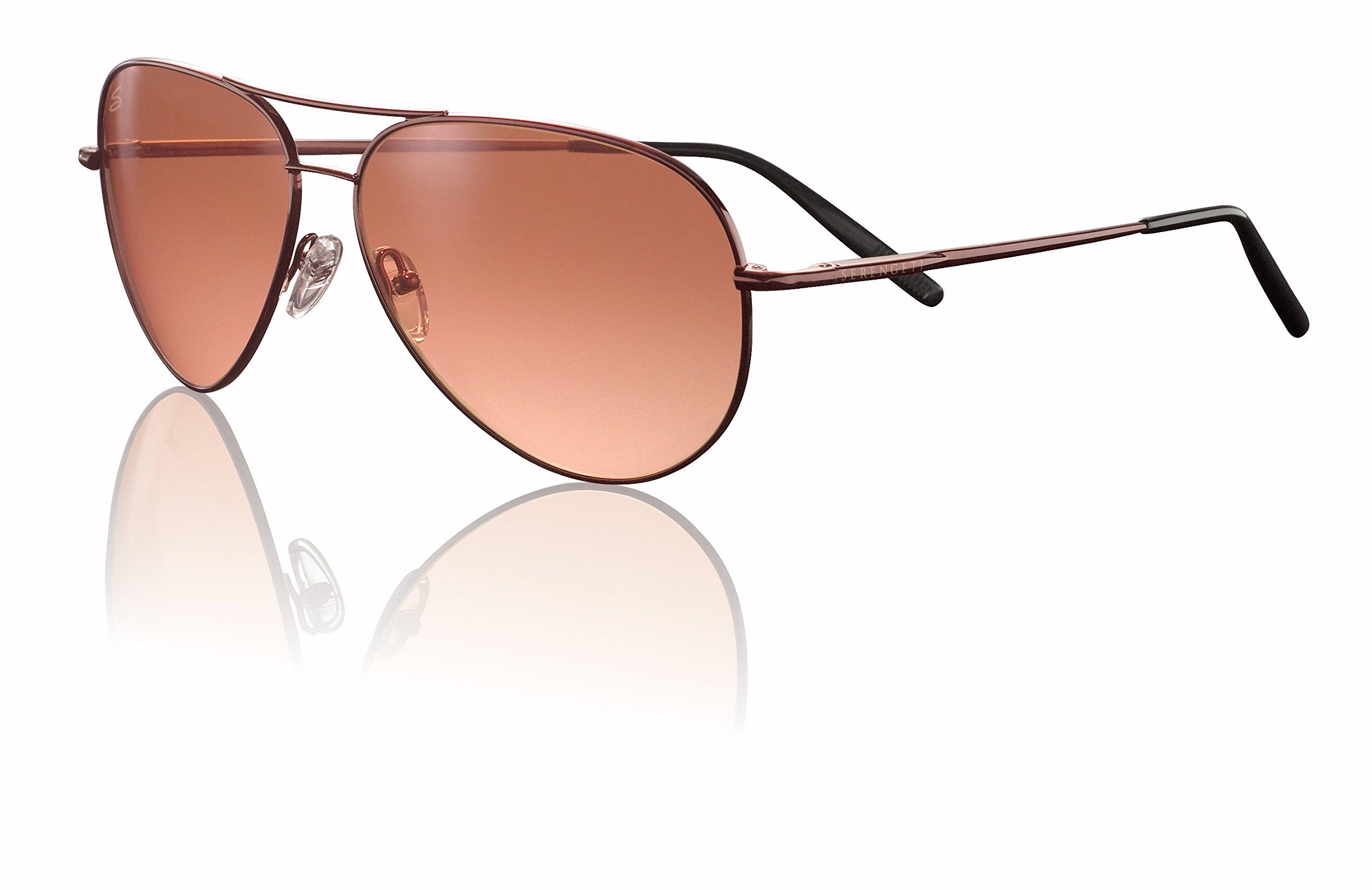 Serengeti Aviator Sunglasses Aviators Gradient