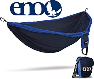 ENO - Eagles Nest Outfitters Double Deluxe Lightweight Camping Hammock, 1 to 2 Person