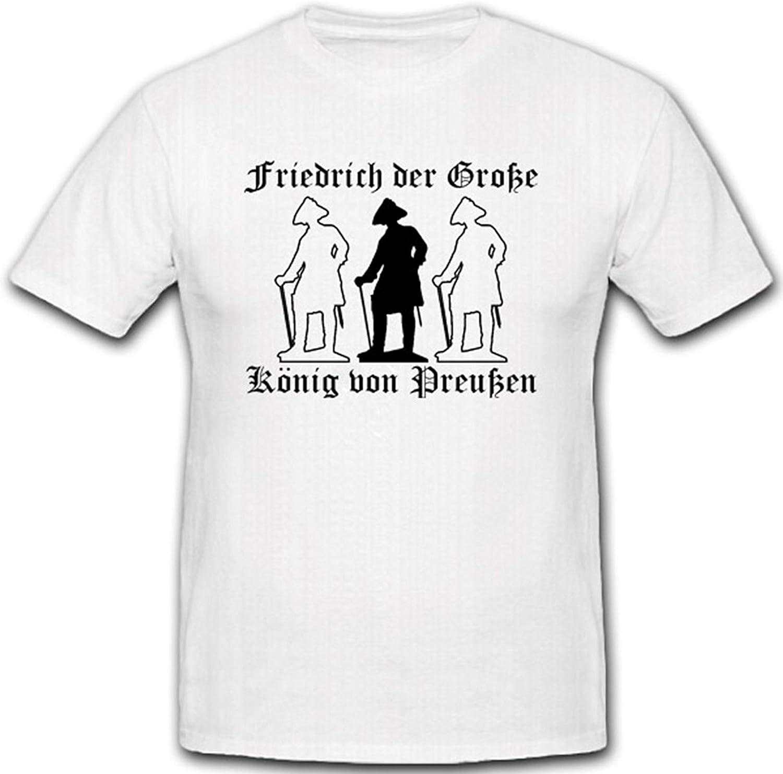 Antigua Fritz König Prusia Kaiser Friedrich la Gran Camiseta ...