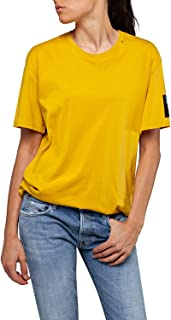 Replay Women's Embroidery Print T-Shirt
