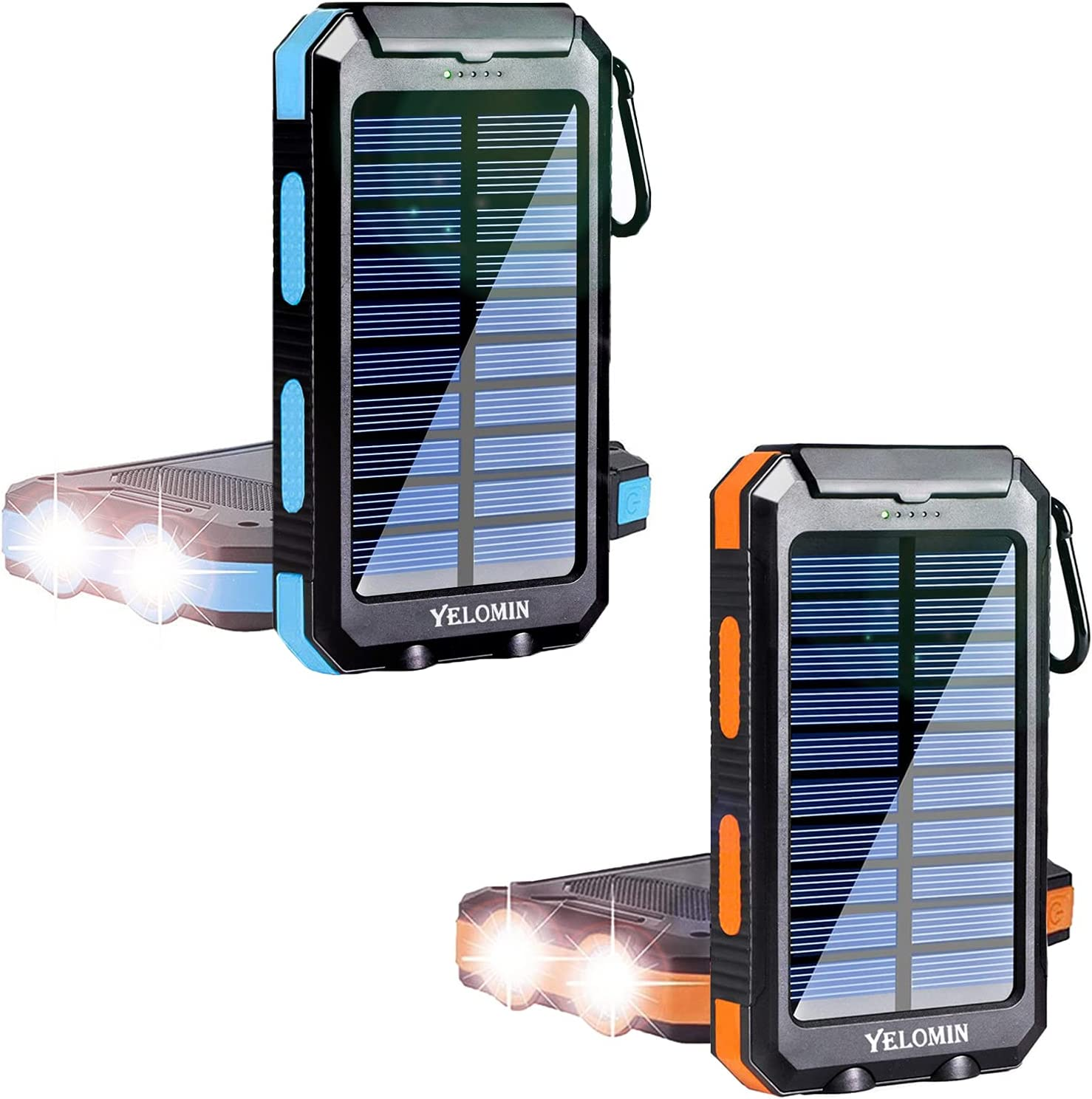 20000mAh Same day shipping Solar Power 67% OFF of fixed price Bank Portable Charger Dual Flash with