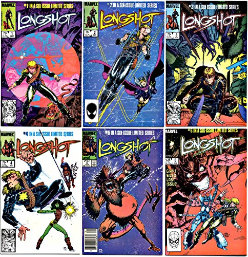 Longshot - Issues 1-6 of a Six Issue Limited Series