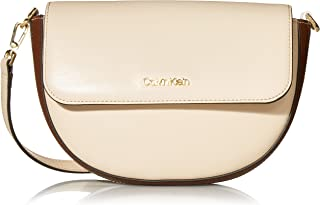 Calvin Klein Kari Hermine Leather Crossbody