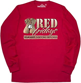 Red Fridays (Remember Everyone Deployed) Long Sleeve T-Shirt