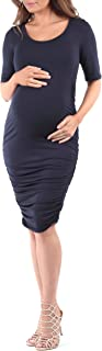 Women's Ruched Maternity Dress - Made in USA