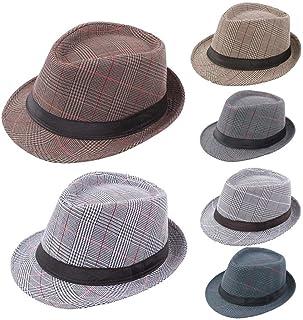 2b506b4e788 Amazon.com  Whites - Fedoras   Hats   Caps  Clothing