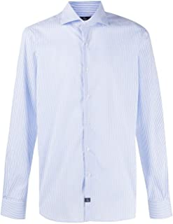 Fay Luxury Fashion Mens NCMA140259SRSNU010 Light Blue Shirt | Spring Summer 20