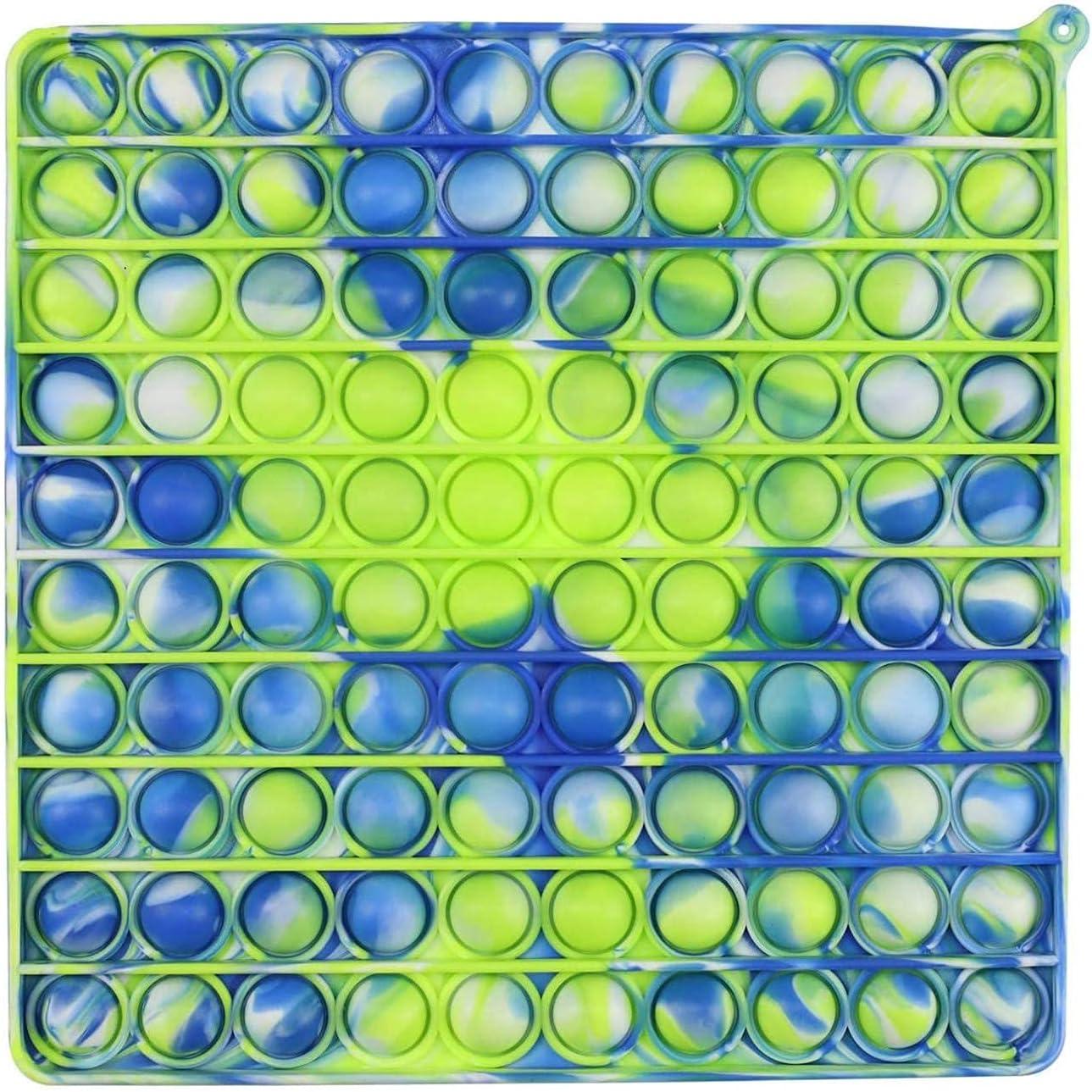 Ynzix Max 84% OFF Big Size Pop Bubble Sensory 100 Bubbles Toys Fidget 2021 new Silico