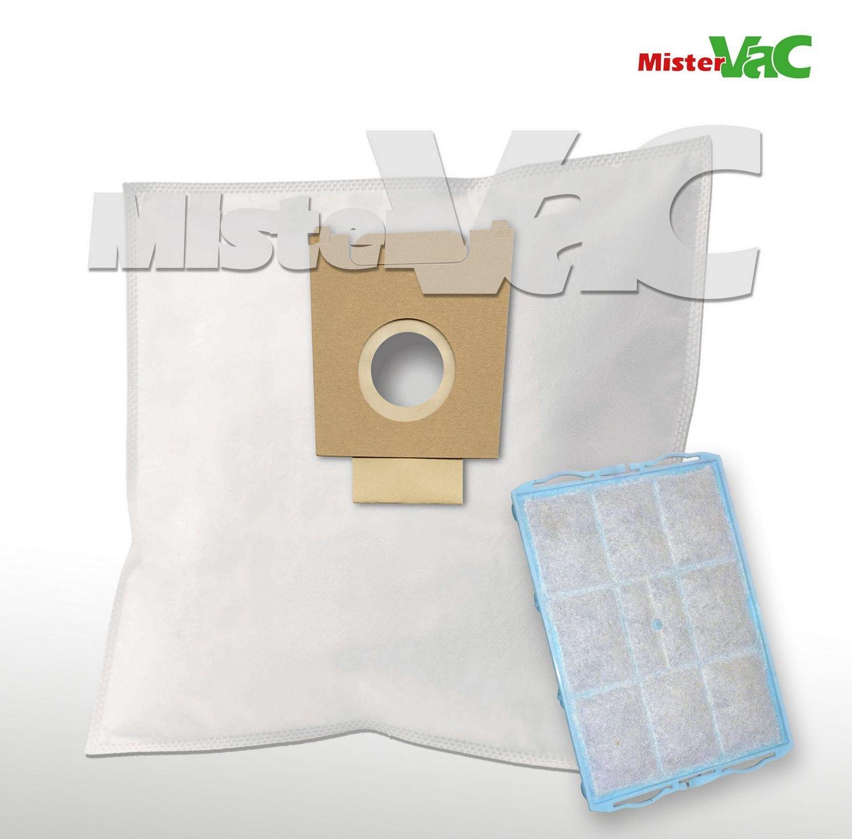 10 x Bolsas para aspiradoras filtro + para Bosch BSA 3510/06 Sphera 35 PowerMax: Amazon.es: Hogar