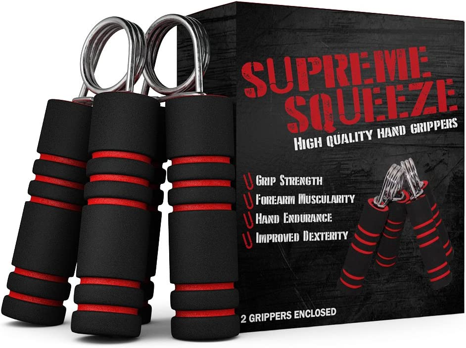 Hand Strengthener Set - 2 Denver Mall Forearm Grips outlet Exercise Included