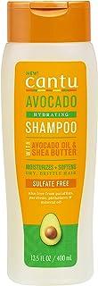 Cantu Avocado Sulfate Free Shampoo with Avocado Oil Shea Butter, 13.5 Fl Oz