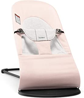 BABYBJORN Bouncer Balance Soft - Light Pink/Gray, Jersey Cotton - coolthings.us