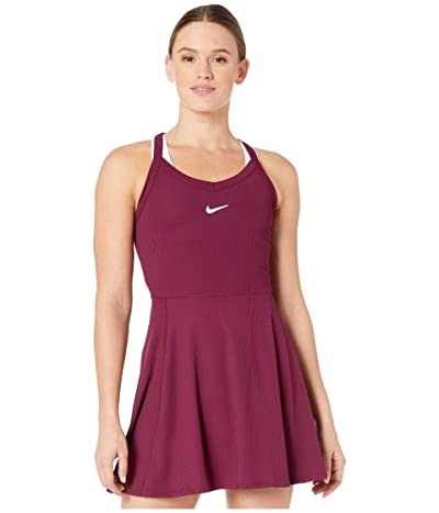 Nike Court Dry Dress (Bordeaux/White) Women