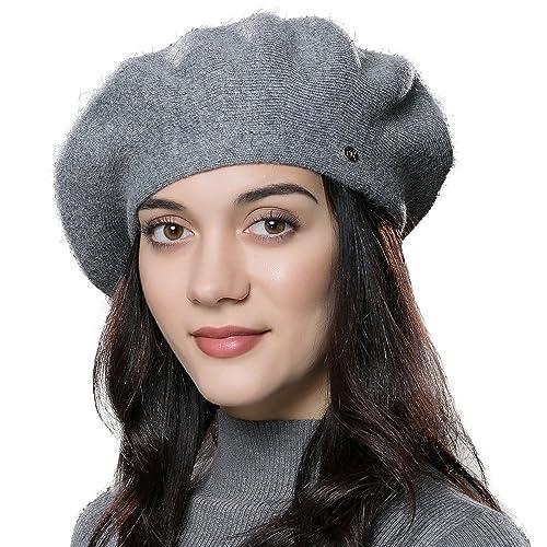 e6281cddfec7b ENJOYFUR French Style Beret Hats