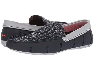 SWIMS Classic Venetian Loafer (Navy/Alloy) Men