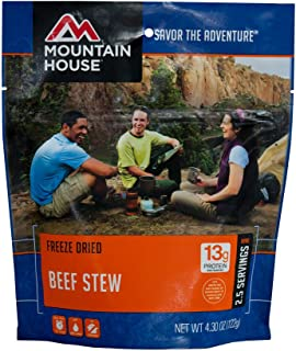 Mountain House Beef Stew, Pouch