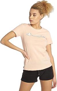 Champion T-Shirt Damen 111924 S19 PS019 IMP Rosa