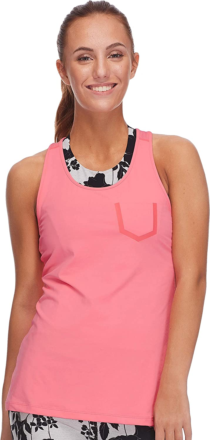 Body Glove Active Women's Meltemi Relaxed Fit Activewear Tank Top