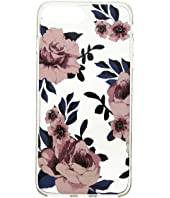 Kate Spade New York - Jeweled Prairie Rose Clear iPhone Case for iPhone 8 Plus