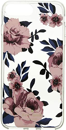 Jeweled Prairie Rose Clear iPhone Case for iPhone 8 Plus