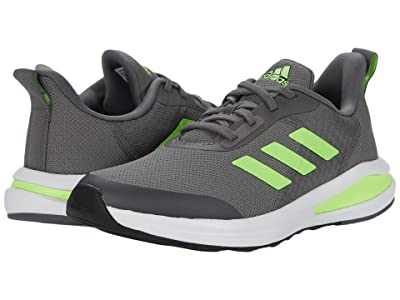 adidas Kids FortaRun (Little Kid/Big Kid) (Grey Four/Signal Green/Footwear White) Boys Shoes