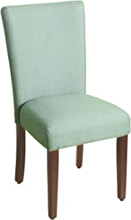 HomePop Parsons Classic Upholstered Accent Dining Chair, Single Pack, Teal