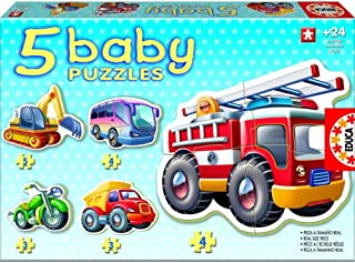 Educa Baby Puzzle Vehicles Puzzle [14866]