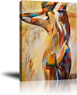Premium Canvas Wall Art, Prints Nude Woman Back Decor Photo Paintings, Decorative Artwork for Bedroom Home Office Framed Ready to Hang 16