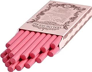 16pcs/Set Pink Color Glue Gun Sealing Wax Stick for Documents Sealing Gift Decoration
