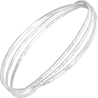 sterling silver golf bangle