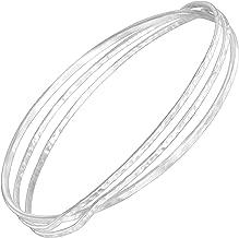 Best hammered sterling silver bangle bracelet Reviews