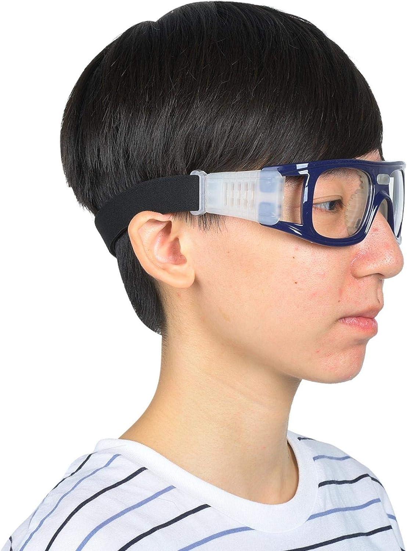DAUERHAFT Gafas de fútbol sin deformación con Materiales Suaves de súper alargamiento Gafas de Baloncesto para Deportes al Aire Libre