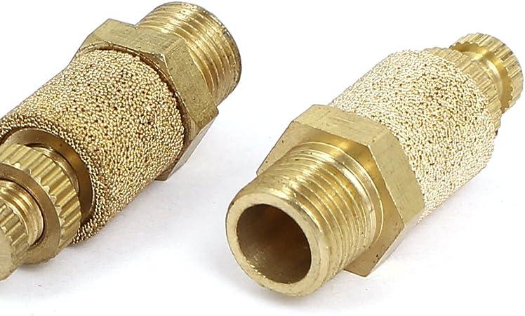 1//4BSP filetage bruit d/'échappement 4pcs réglable pneumatique Air Silencieux