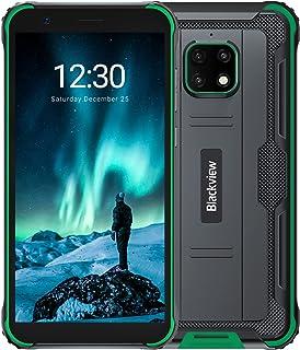 Blackview BV4900S スマホ SIMフリー 本体 Android 11 防水防塵耐衝撃 アウトドア スマートフォン 5580mA 大容量バッテリ 3GB RAM 32GB ROM 5MP+8MP防水カメラ IP68 5.7インチ ...
