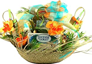 5 O'clock Somewhere, Tropical Gift Basket - With 16