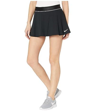 Nike Court Dry Skirt Flouncy (Black/White/White/White) Women