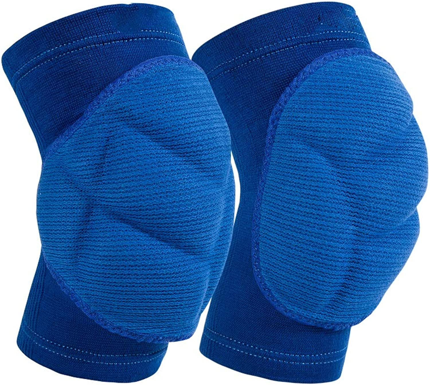 LBYMYB Anti-Collision Thickening Volleyball Goalkeeper Dance Street Dance Skating Climbing Sponge Knee Pads Kneepad (color   bluee, Size   XL)