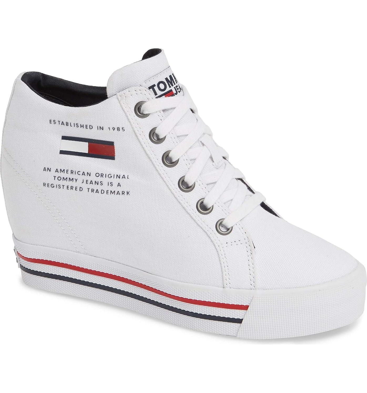 [トミーヒルフィガー] レディース スニーカー Wedge Sneaker (Women) [並行輸入品]