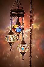 turkish mosaic hanging lamps