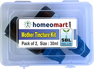 Nux Vomica Q, Homeopathic Mother Tincture Kit, Value Pack of 2 from SBL (30ml Each)