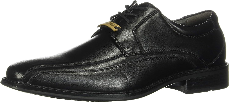 Dockers Endow Bike Toe Oxford Black Polished Leather 14