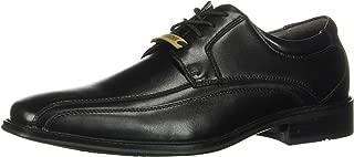 Men's Endow Bike Toe Oxford Black Polished Leather 14 D US