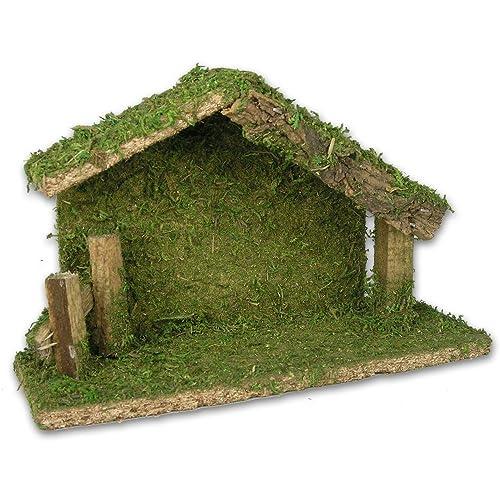 Nativity House: Amazon.com on christmas plans, train plans, halloween plans, temple plans, sheep plans, outdoor wooden manger plans, birth plans, church plans, life plans, marriage plans, sleigh plans,