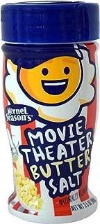 Kernel Season's Movie Theater Butter Salt Popcorn Seasoning, Movie Theater Butter Salt, 3.5 Ounce (Pack of 6)