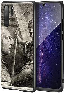 James Barry Huawei P30 Pro用ケース/ファインアート携帯電話ケース/高解像度ジクレーレベルUV複製プリント、携帯電話カバー(ウィリアムピットアールオブチャタム)