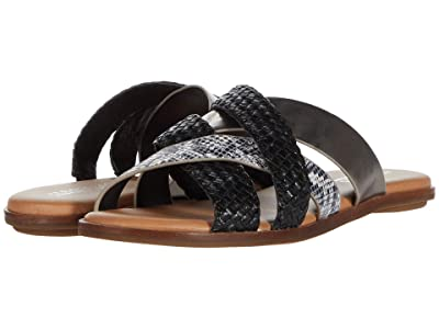 Aerosoles Martha Stewart Sandra (Black/White Snake) Women