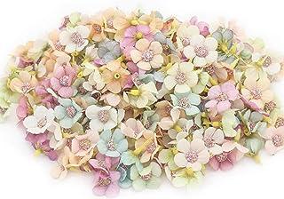 40 Pièces Têtes de Fleurs Artificielles, Têtes de Fleurs de Marguerite Artificielle, Petite Fleur de Marguerite en Soie, p...