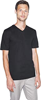 American Apparel Men's Fine Jersey Classic Short Sleeve V-Neck